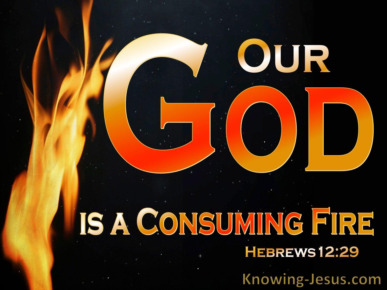 Hebrews 12:29