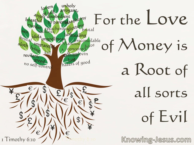 1 Timothy 6:10