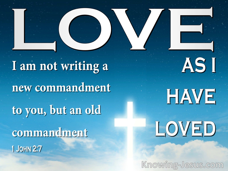 1 John 2:7