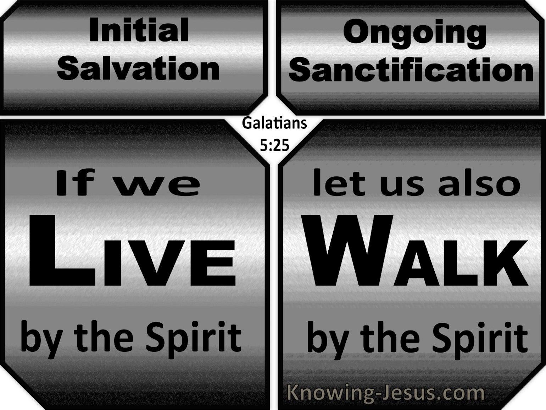 Galatians 5:25