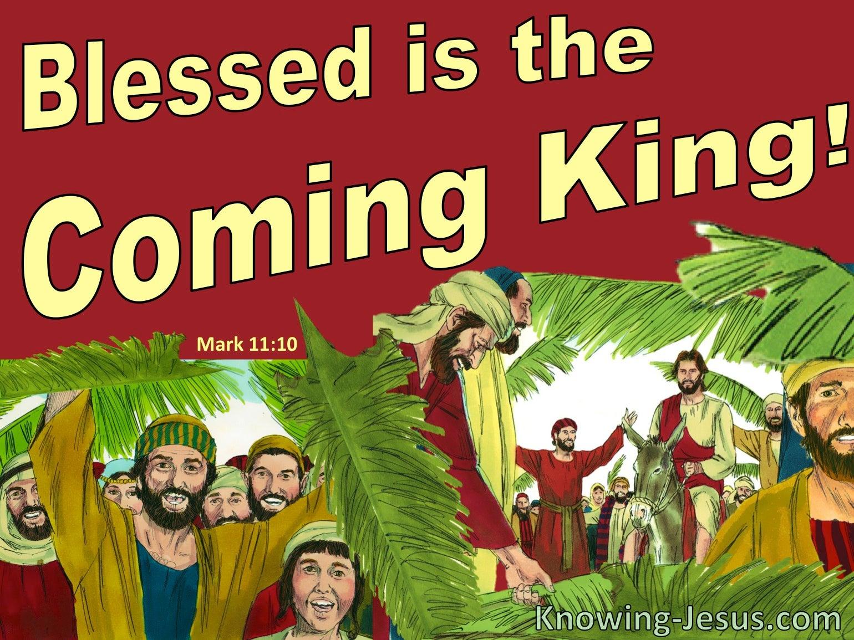 Mark 11:10