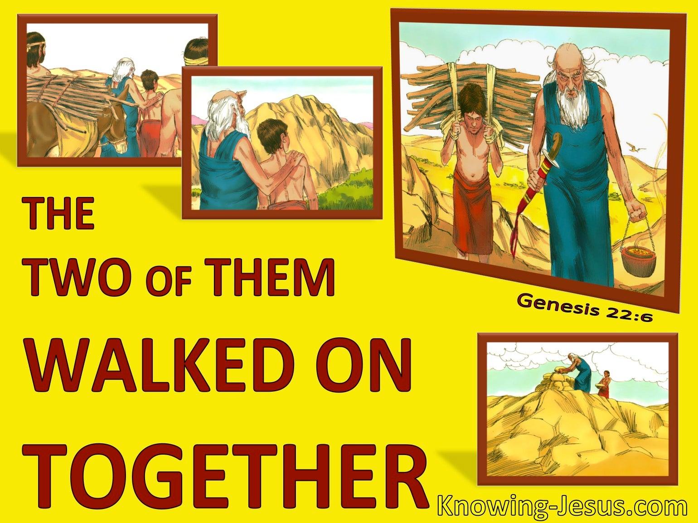 Genesis 22:6