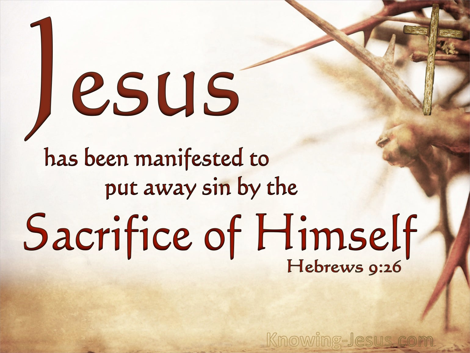 What Does Hebrews 9:26 Mean?
