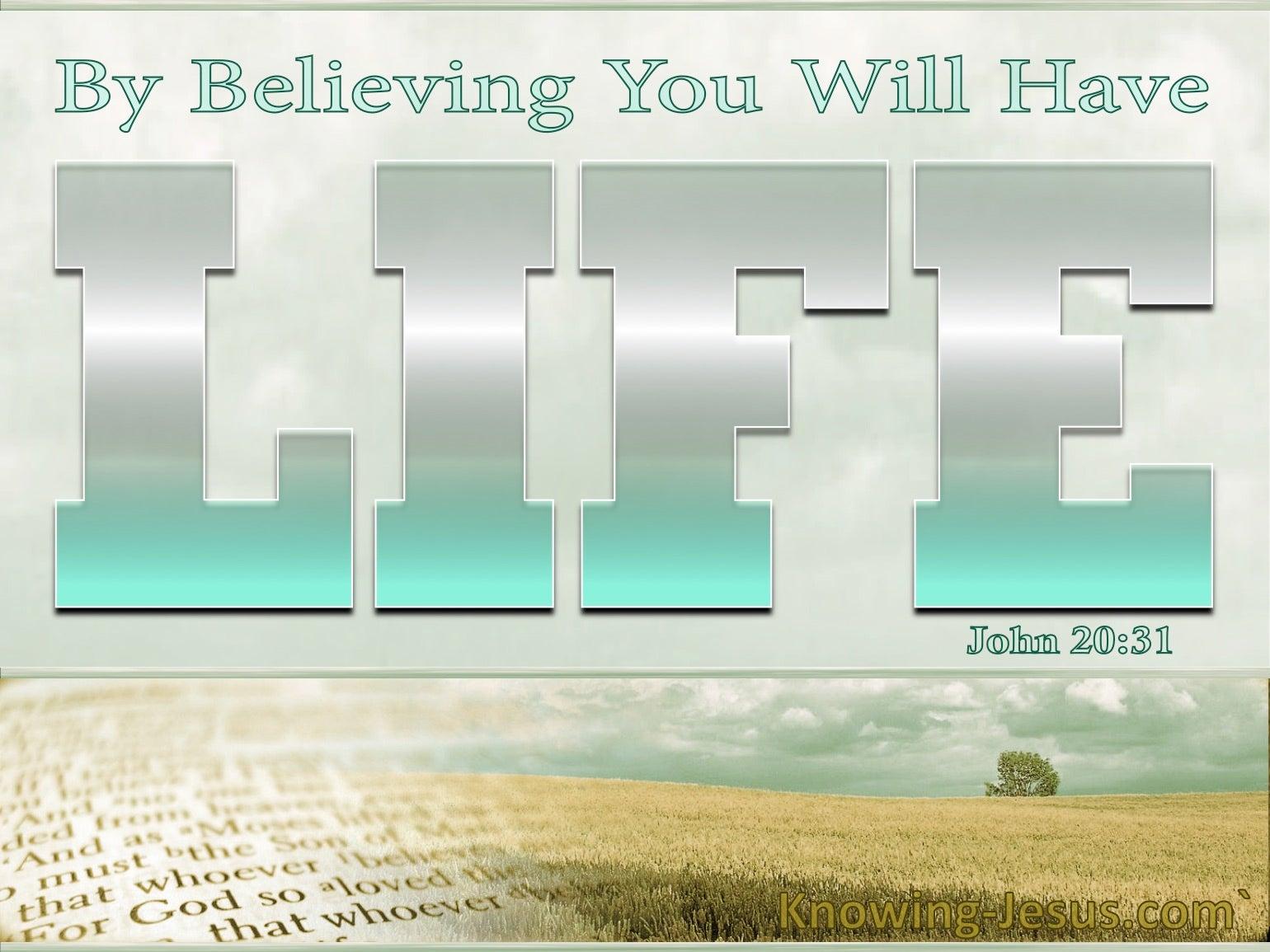 John 20:31