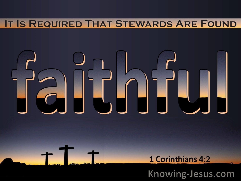 What Does 1 Corinthians 4:2 Mean?
