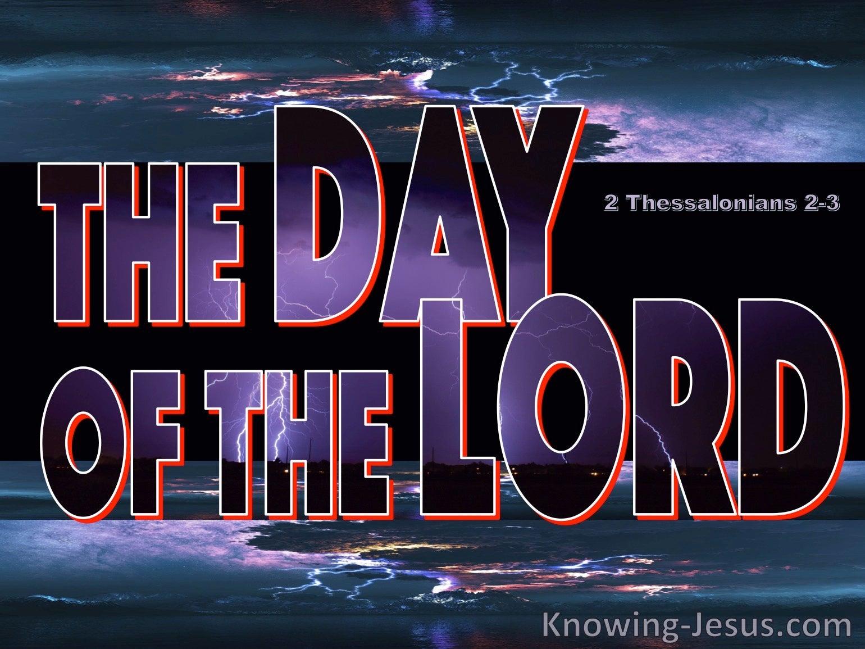 2 Thessalonians 2:3