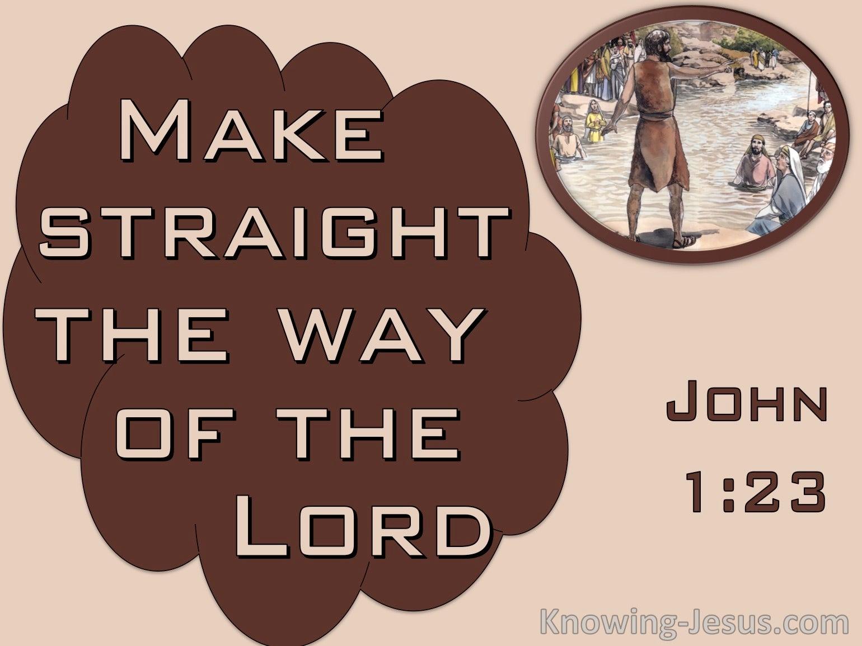 John 1:23