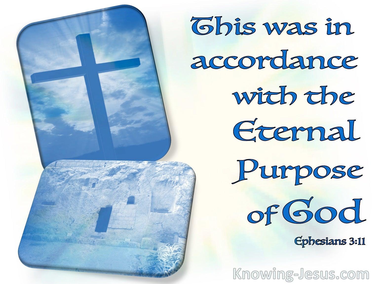 Ephesians 3:11