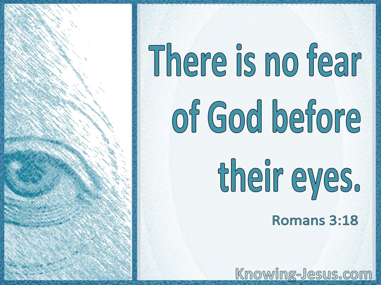 Romans 3:18