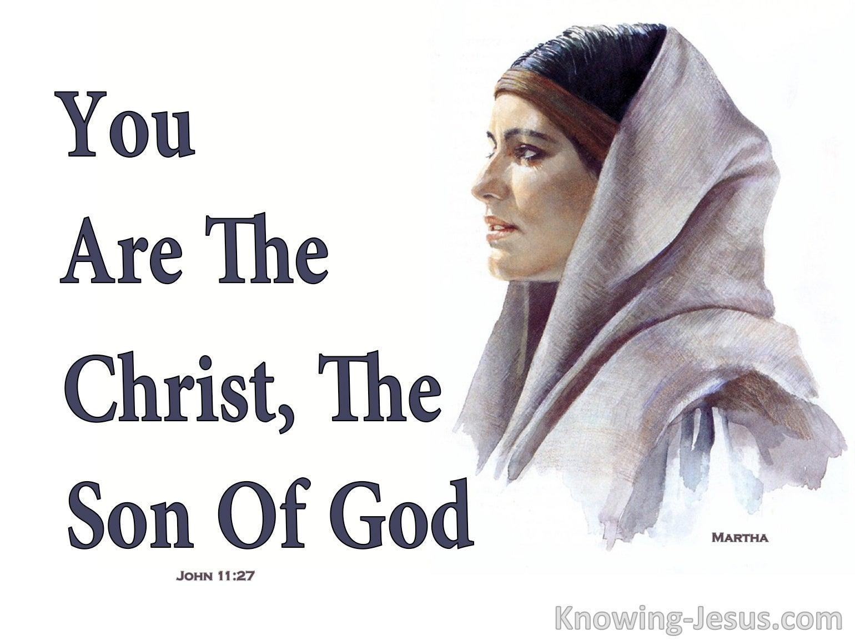 John 11:27