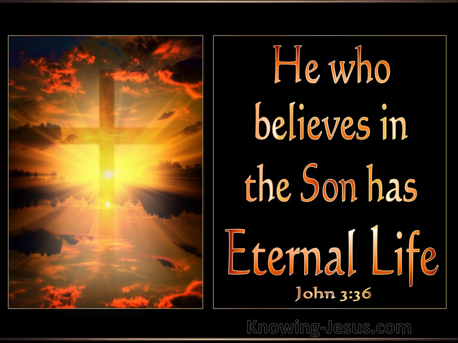 What Does John 3:36 Mean?