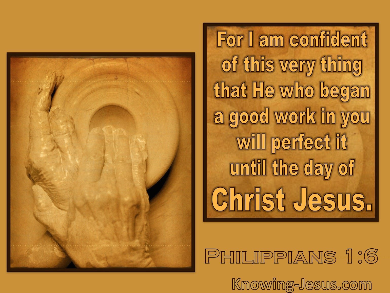 what does philippians 1 6 mean