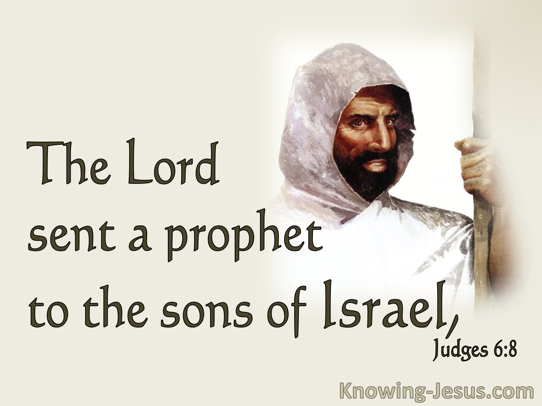 Judges 6:8