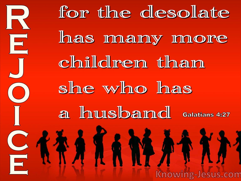 Galatians 4:27