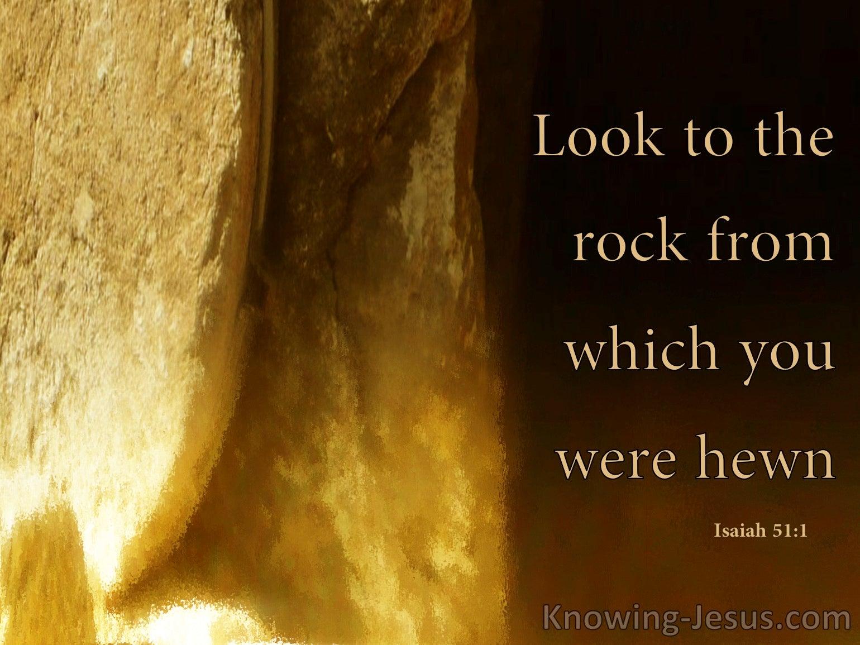 Isaiah 51:1