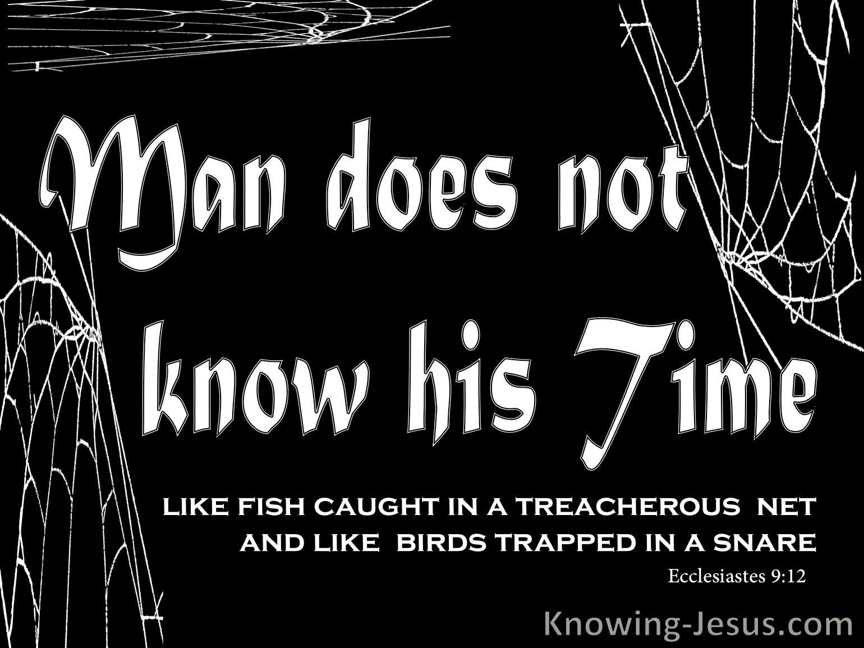 Ecclesiastes 9:12