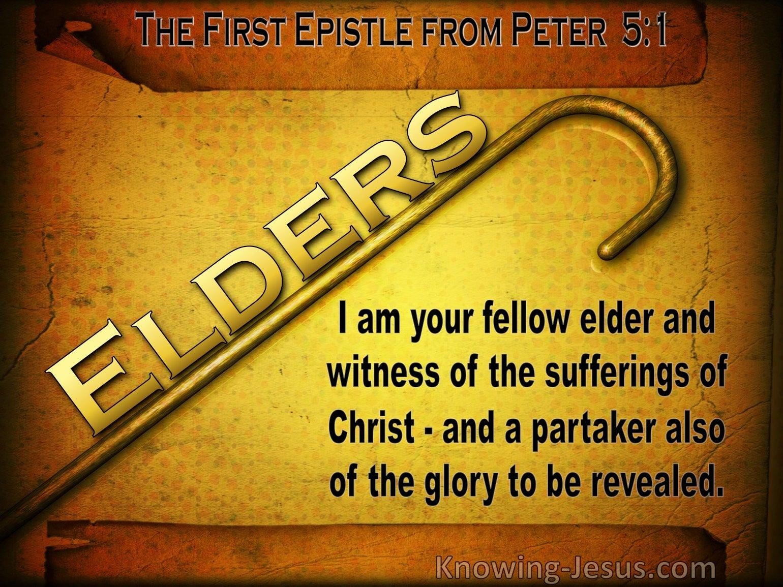 1 Peter 5:1
