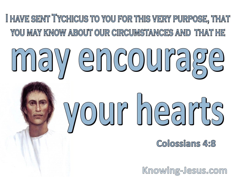 Colossians 4:8