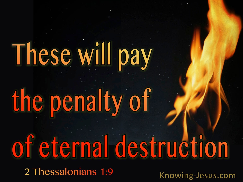 2 Thessalonians 1:9