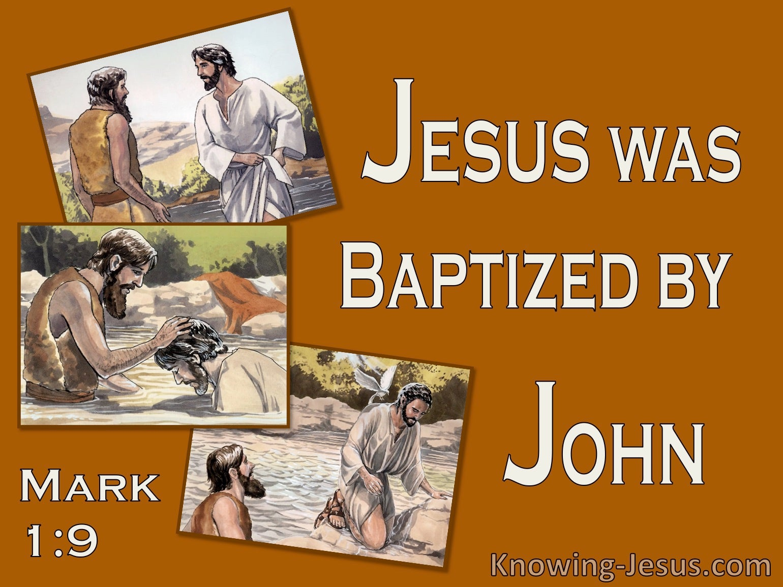 Mark 1:9