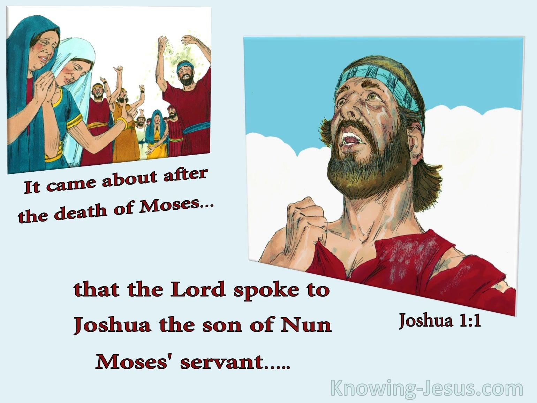 Joshua 1:1