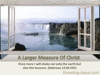 A Larger Measure Of Christ