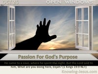 Passion For God's Purpose