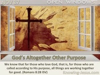 God's Altogether Other Purpose
