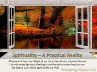 Spirituality – A Practical Reality