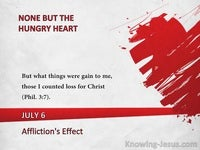 Affliction's Effect