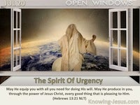 The Spirit Of Urgency
