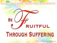 Be Fruitful Through Suffering