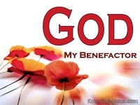 God, My Benefactor (God - All I Need-4)