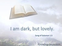 Song of Solomon 1:5