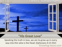 """His Great Love"""
