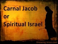Carnal Jacob Or Spiritual Israel - Man's Nature and Destiny (20)