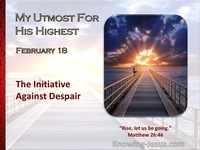 The Initiative Against Despair
