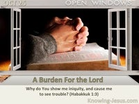 A Burden For the Lord