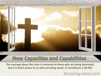 New Capacities and Capabilities