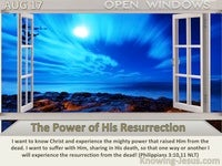 The Power of His Resurrection