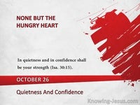 Quietness And Confidence