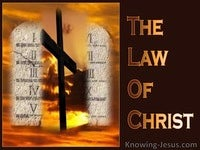 The Law of Christ