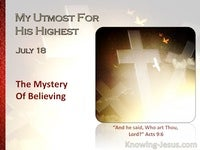 The Mystery of Believing