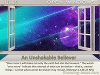 An Unshakable Believer