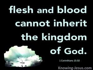 1 Corinthians 15:50