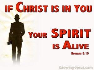 Romans 8:10