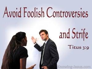 Titus 3:9