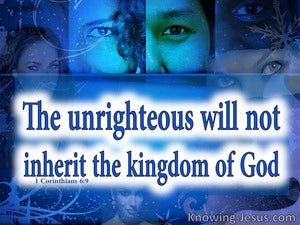 1 Corinthians 6:9