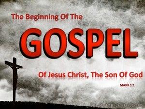 Mark 1:1