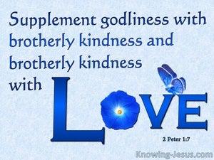 2 Peter 1:7